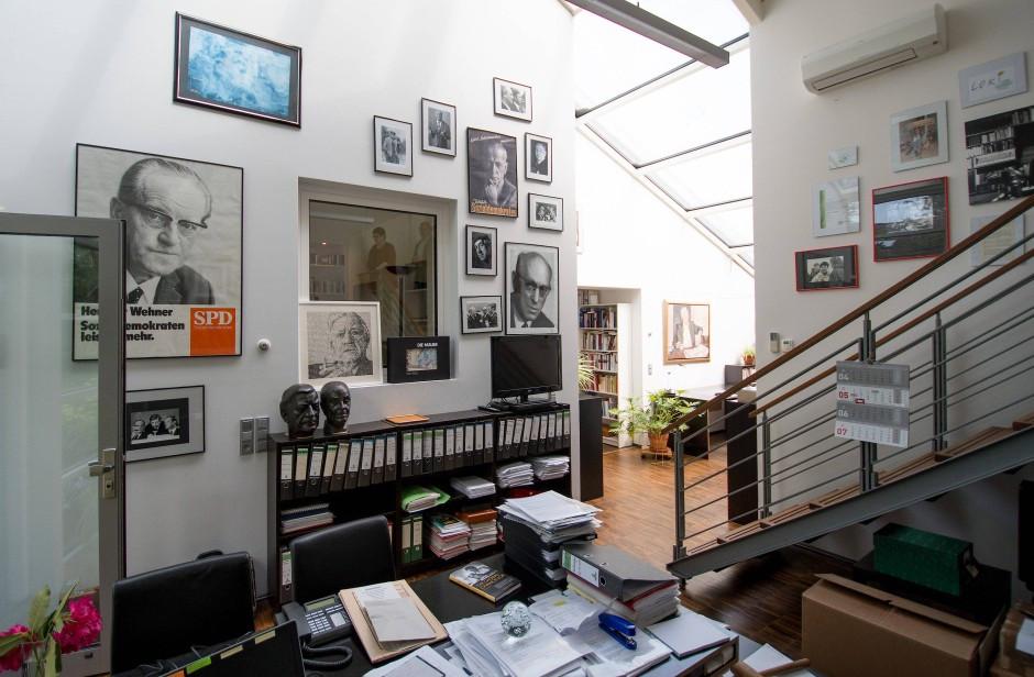 Loki Schmidt Haus  Bildergalerie Im Kanzler Haus Zu Besuch bei Helmut