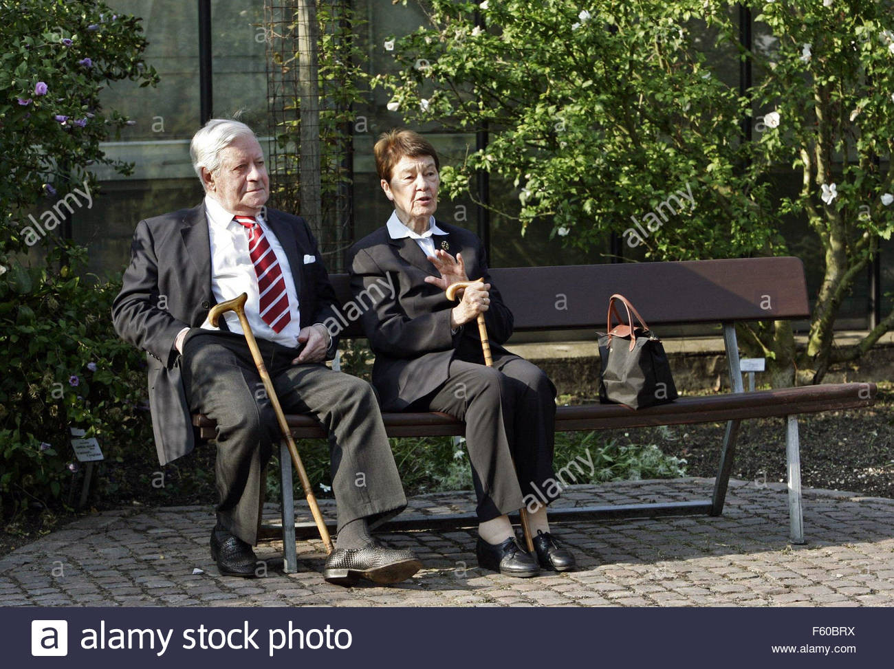 Loki Schmidt Haus  Loki Schmidt and her husband and former Chancellor Helmut