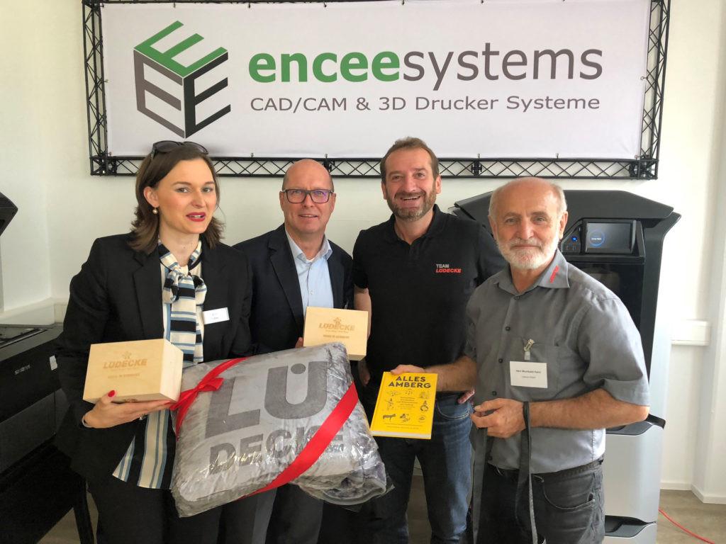 Lüdecke Amberg  Encee eröffnet Technisches Büro Amberg hightech marketing