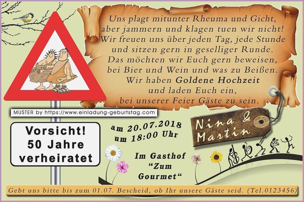 Lustiges Zur Goldenen Hochzeit  Einladung Goldene Hochzeit Lustig – travelslow
