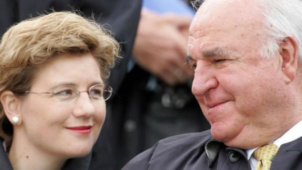 Maike Kohl-Richter Hochzeit  Altbundeskanzler Helmut Kohl hat geheiratet Menschen FAZ