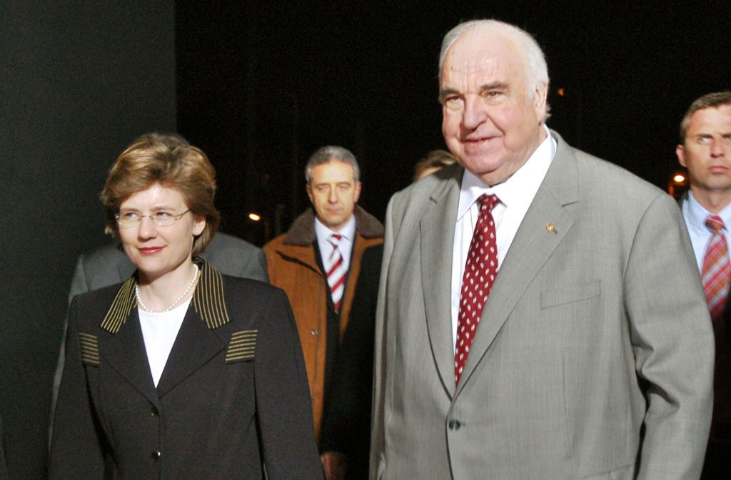 Maike Kohl-Richter Hochzeit  Helmut Kohls Erbe Der Schatz von Oggersheim Politik