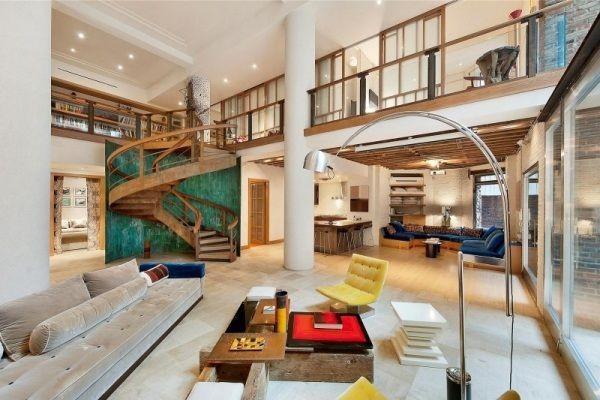 Maisonette Wohnung  maisonette wohnung schickem design wohnzimmer