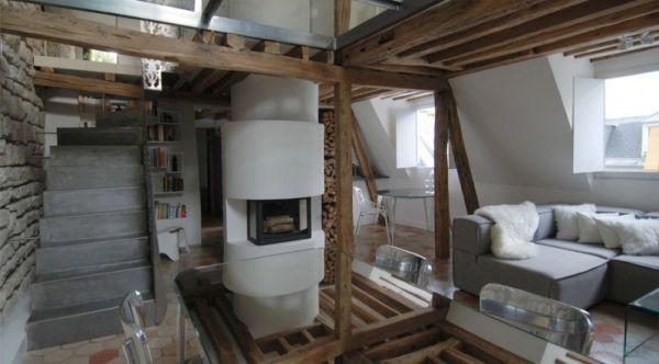 Maisonette Wohnung  Renovierte Maisonette Wohnung im Herzen von Paris trendy