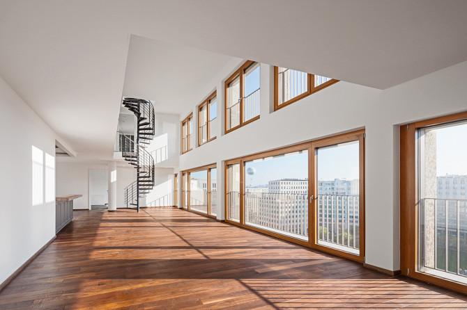 Maisonette Wohnung  maisonette wohnung Adrian Schulz Architekturfotografie