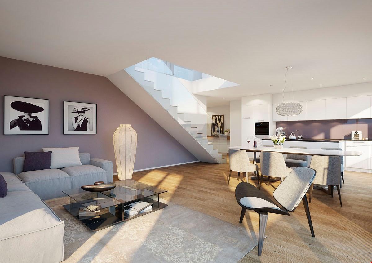 Maisonette Wohnung  5 5 Zimmer Maisonette Wohnung mit Dachterrasse ImmoScout24
