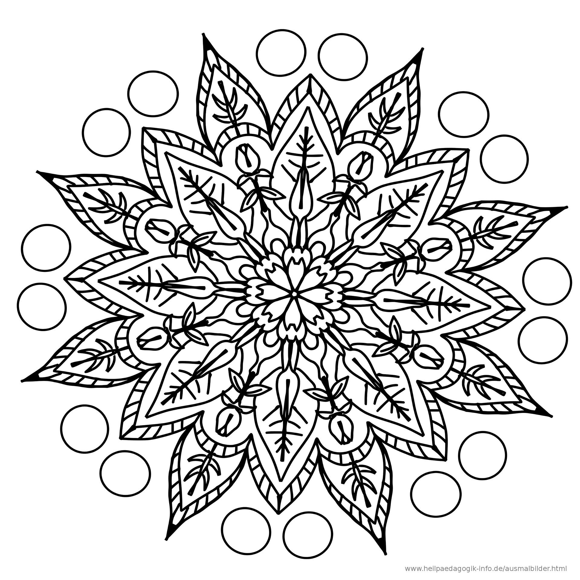 Malvorlagen Mandala  Ausmalbilder Mandalas