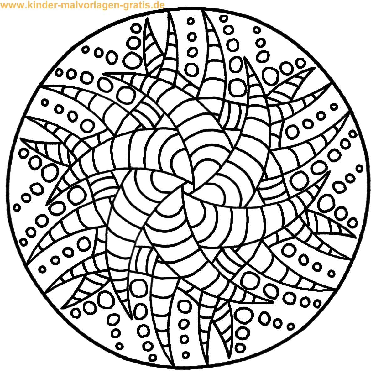Malvorlagen Mandala  Mandala malvorlagen kostenlos zum ausdrucken