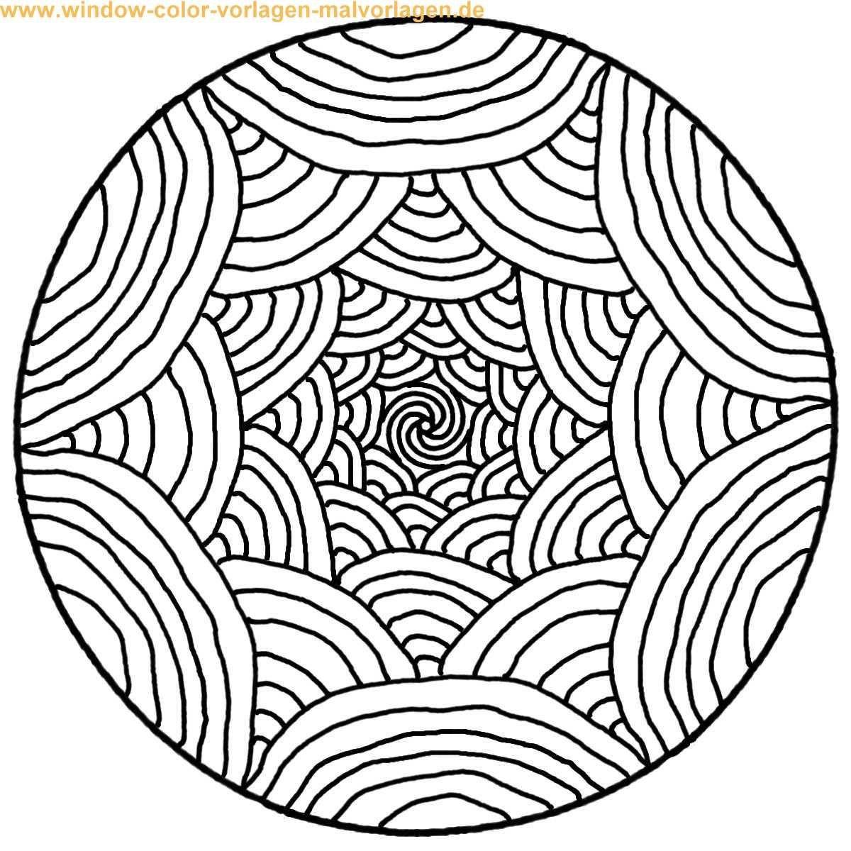 Malvorlagen Mandala  mandalas