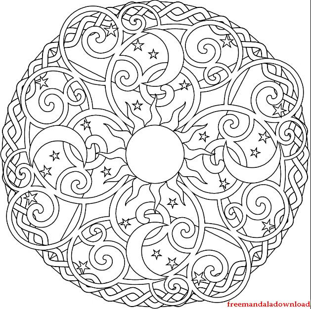 Malvorlagen Mandala  Mandala malvorlagen zum ausdrucken Mandala coloring pages
