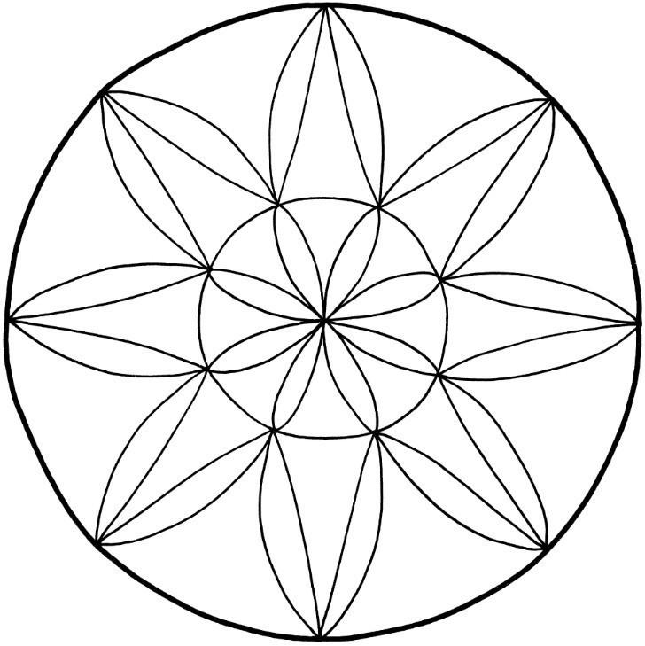 Malvorlagen Mandala  Ausmalbilder Mandalas Zum Ausdrucken Malvorlagentv