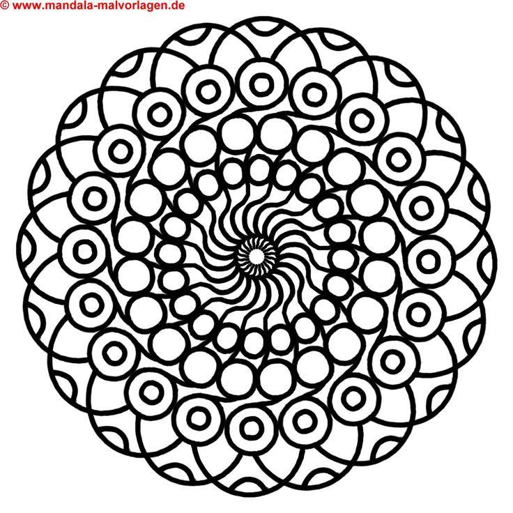 Malvorlagen Mandala  15 besten Mandala Bilder auf Pinterest