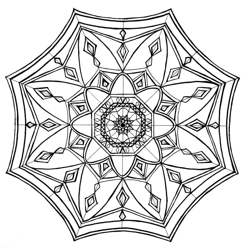 Malvorlagen Mandala  Maltherapie Kunsttherapie Mandala Malvorlagen auf
