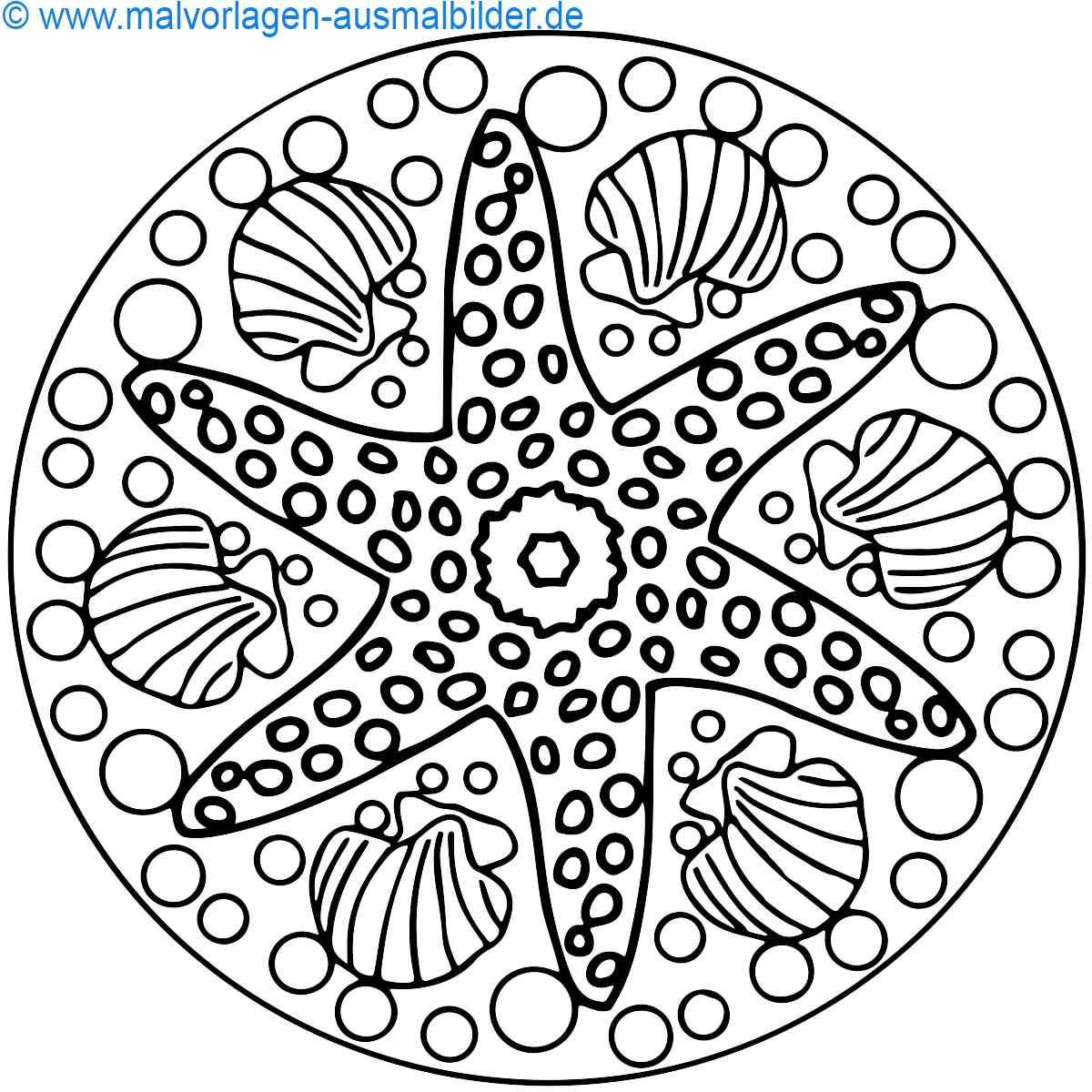 Malvorlagen Mandala  mandala ausmalbilder Ausmalbilder