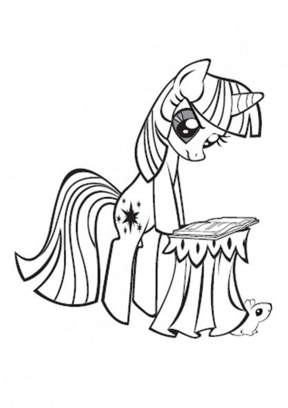 Malvorlagen My Little Pony  Coloriages © Mon Petit Poney