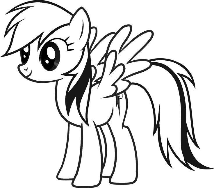 Malvorlagen My Little Pony  my little pony ausmalbild 04 Ausmalen