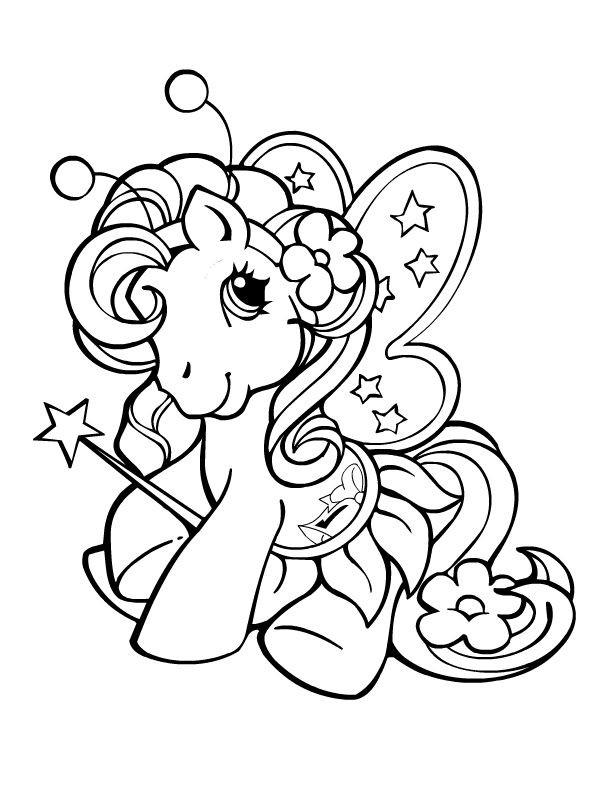 Malvorlagen My Little Pony  My little pony malvorlagen kostenlos zum ausdrucken