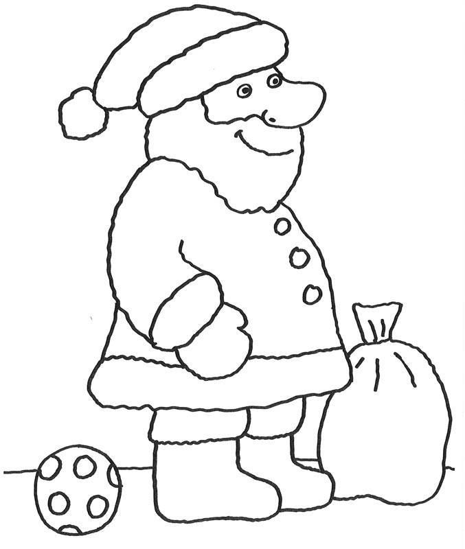 Malvorlagen Nikolaus  Kostenlose Malvorlage Advent Nikolaus zum Ausmalen