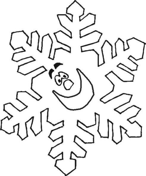 Malvorlagen Schneeflocken  Schneeflocken Ausmalbild Naturstrolche