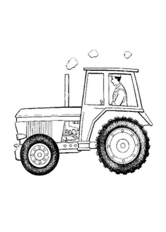 Malvorlagen Traktor  Ausmalbilder traktor kostenlos Malvorlagen zum
