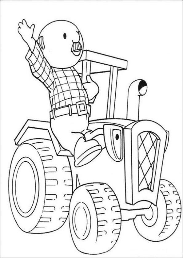Malvorlagen Traktor  Ausmalbilder Traktor 09
