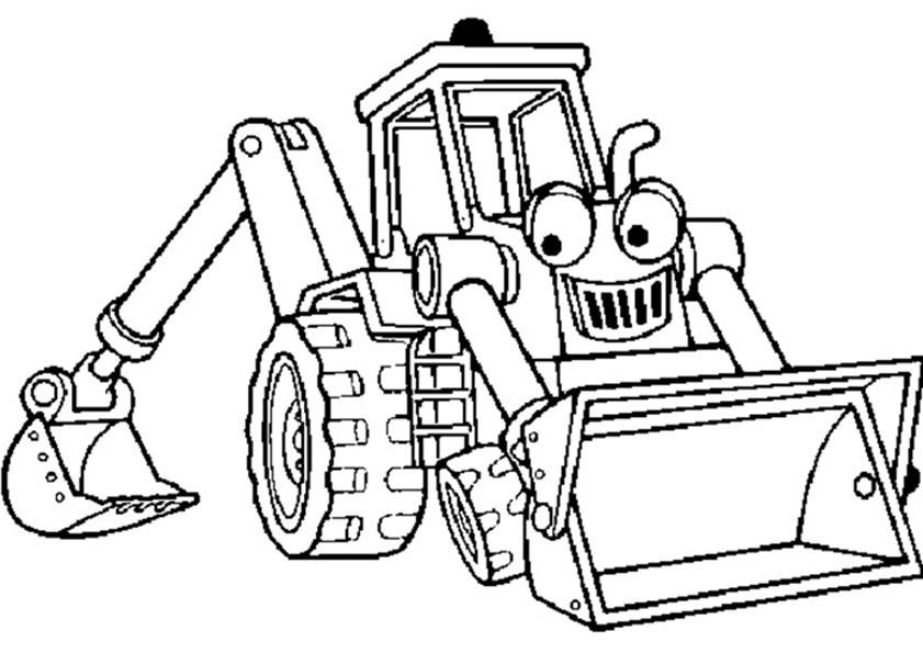 Malvorlagen Traktor  Traktor malvorlagen kostenlos zum ausdrucken