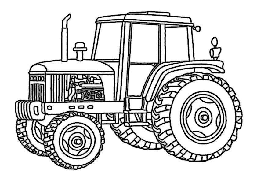 Malvorlagen Traktor  traktor ausmalbilder Malvorlagen Für Kinder