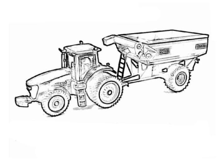 Malvorlagen Traktor  Vorlagen zum Ausmalen Malvorlagen Traktor Ausmalbilder 4