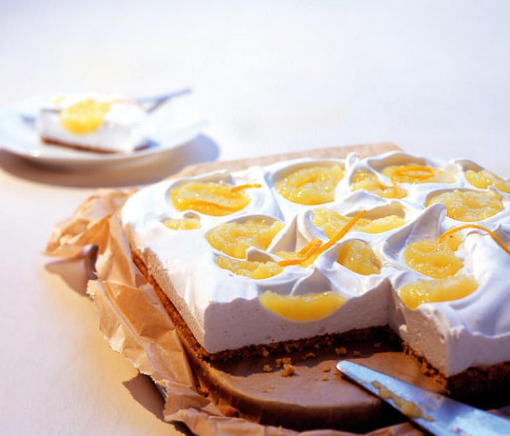 Marshmallow Kuchen  Apfel Marshmallow Kuchen Rezept [ESSEN UND TRINKEN]