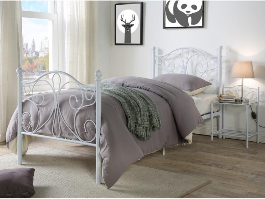 Metallbett 90x200  Metallbett DIDON 90x200 cm günstig online kaufen