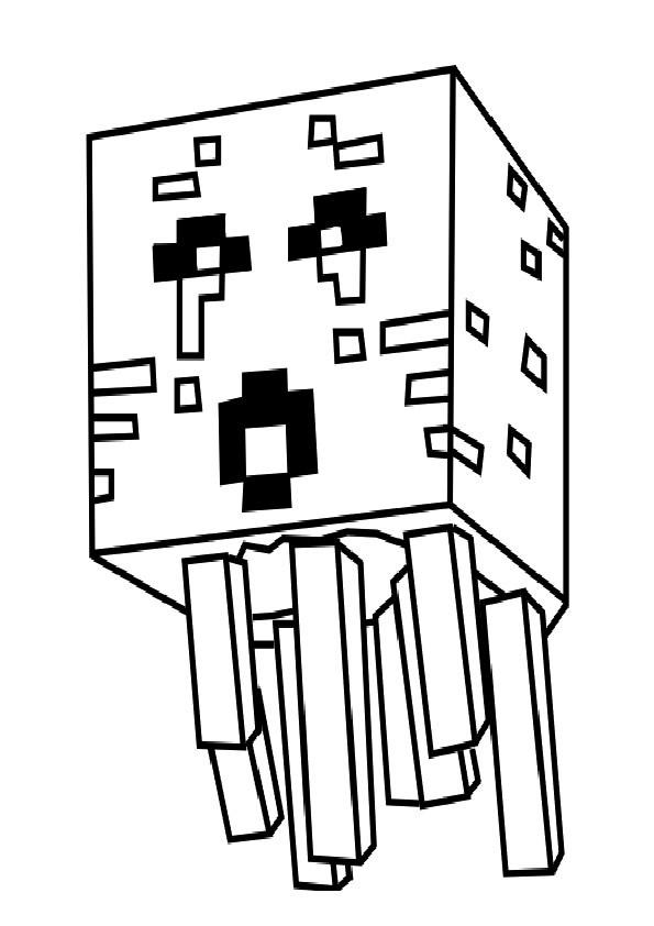 Minecraft Malvorlagen  minecraft 12