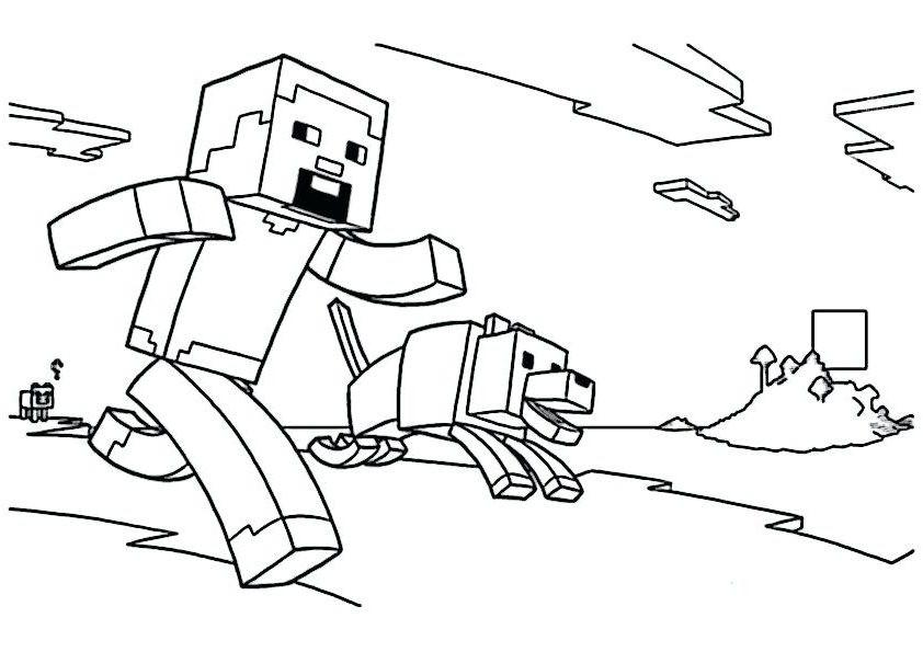 Minecraft Malvorlagen  minecraft ausmalbilder enderdrache 1Ausmalbilder