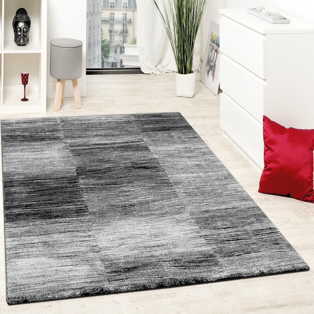 Moderne Teppiche  Designer Teppich Modern Wohnzimmer Teppiche Kurzflor Karo