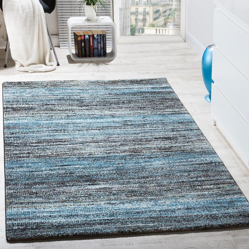 Moderne Teppiche  Wohnzimmer Teppich Spezial Melierung