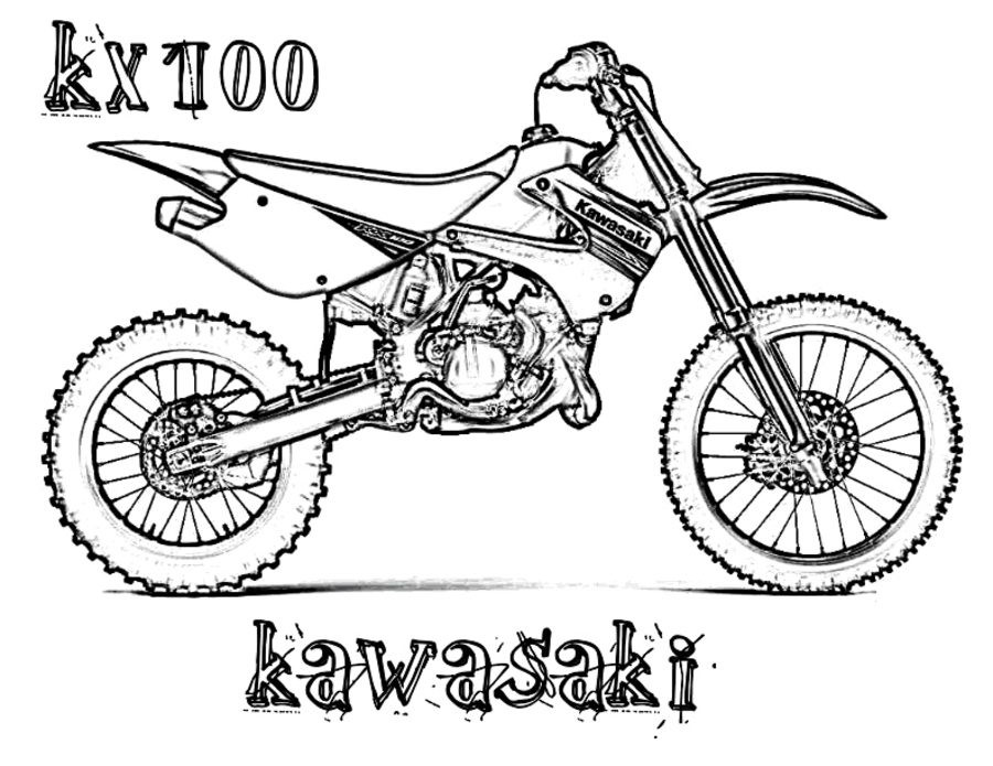 Motocross Ausmalbilder  Ausmalbilder Ausmalbilder Motocross zum ausdrucken