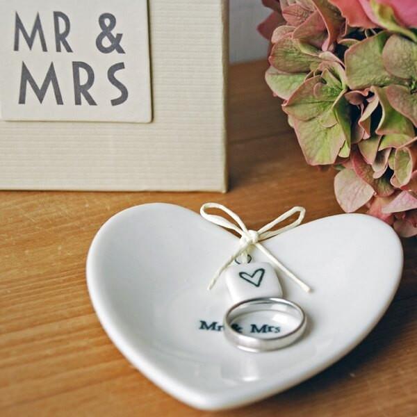 """Mr & Mrs Hochzeit  Ringschale """"Mr & Mrs"""" zur Hochzeit weddix"""