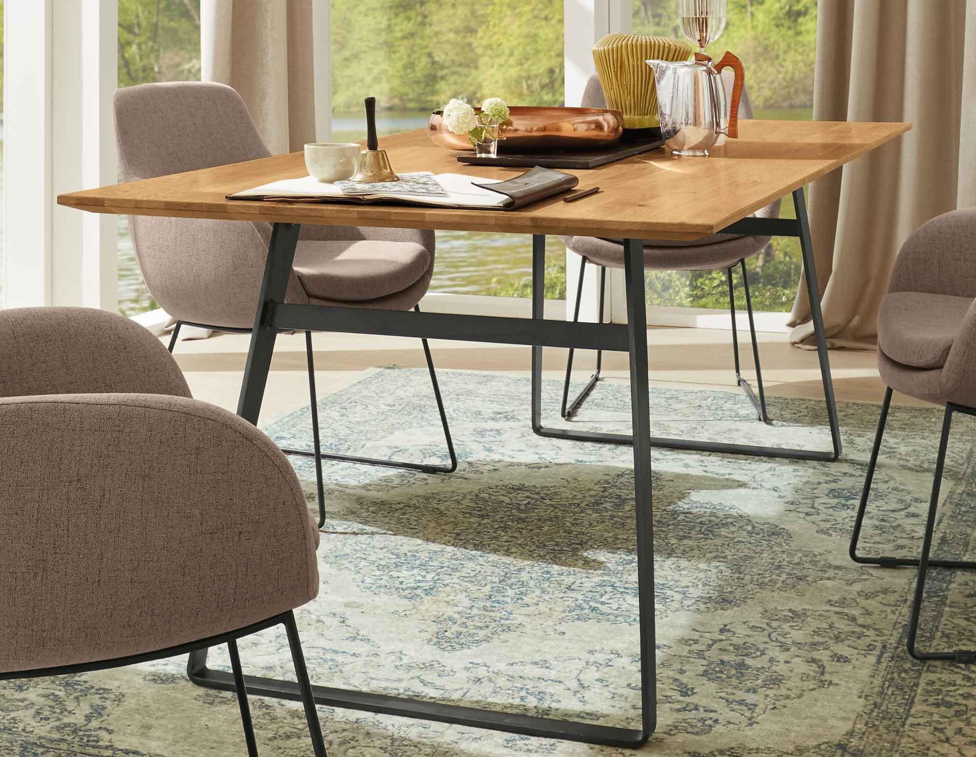 Musterring Esstisch  Musterring Tavia Tisch Ihr Marken Esstisch aus Eiche mit