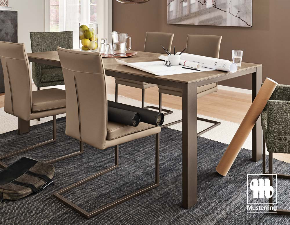 Musterring Esstisch  Musterring Stuhlwerk Esstisch aus geölter Asteiche jetzt