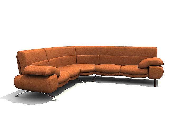 Musterring Sofa  MUSTERRING Sofa furniture model Download free vector 3d