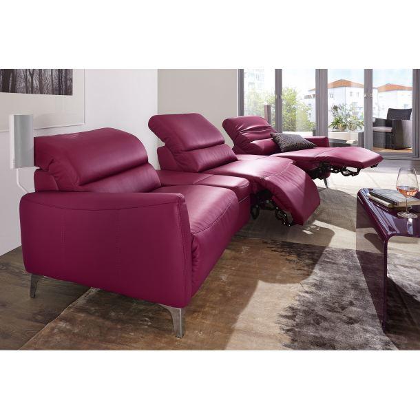 Musterring Sofa  Musterring 2 Sitzer Sofa mit Lederbezug