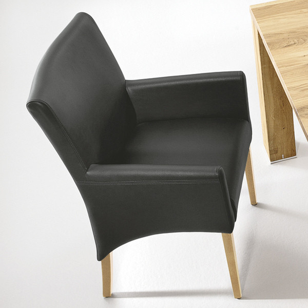 Musterring Stühle  Musterring Stuhlgruppe Stuhl Prato in schwarz von