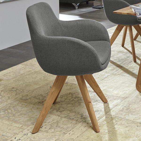 Musterring Stühle  Musterring Schalen Sessel Tavia in grau von HARDECK