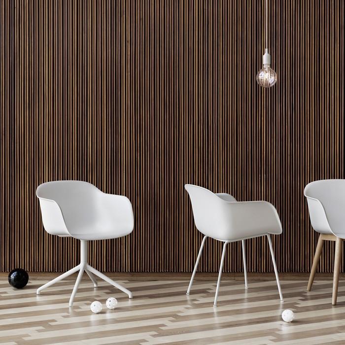 Muuto Stuhl  Muuto Fiber Stuhl Stahlgestell online kaufen