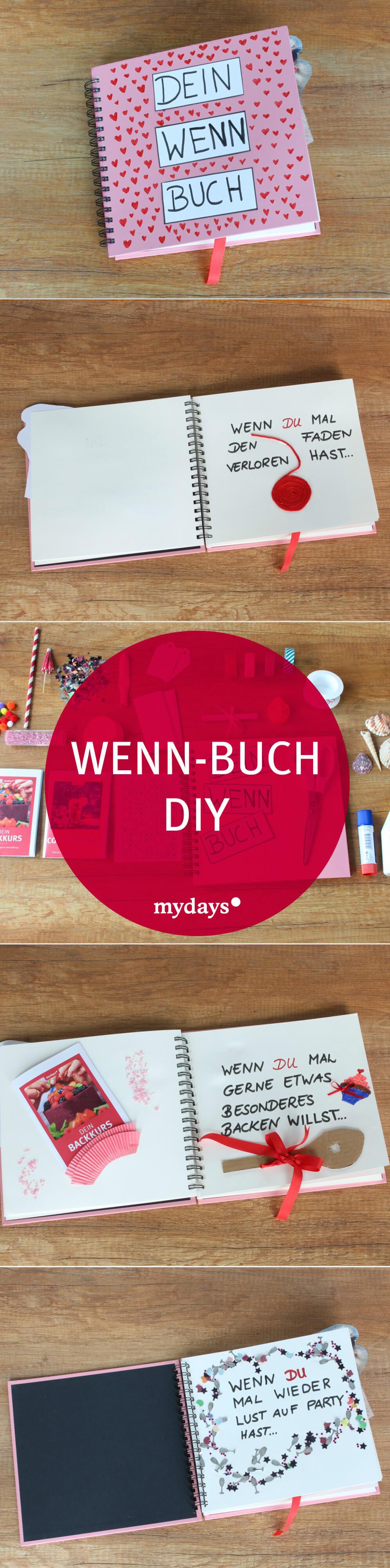 Mydays Geschenke  Wenn Buch basteln 8 kreative Ideen DIY
