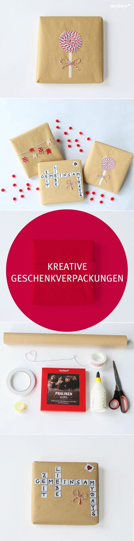 Mydays Geschenke  Die besten 25 Kreative geschenkverpackungen Ideen auf
