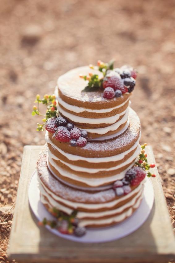 Naked Cake Hochzeitstorte  o escolher o bolo de casamento Blog Meu Casamento