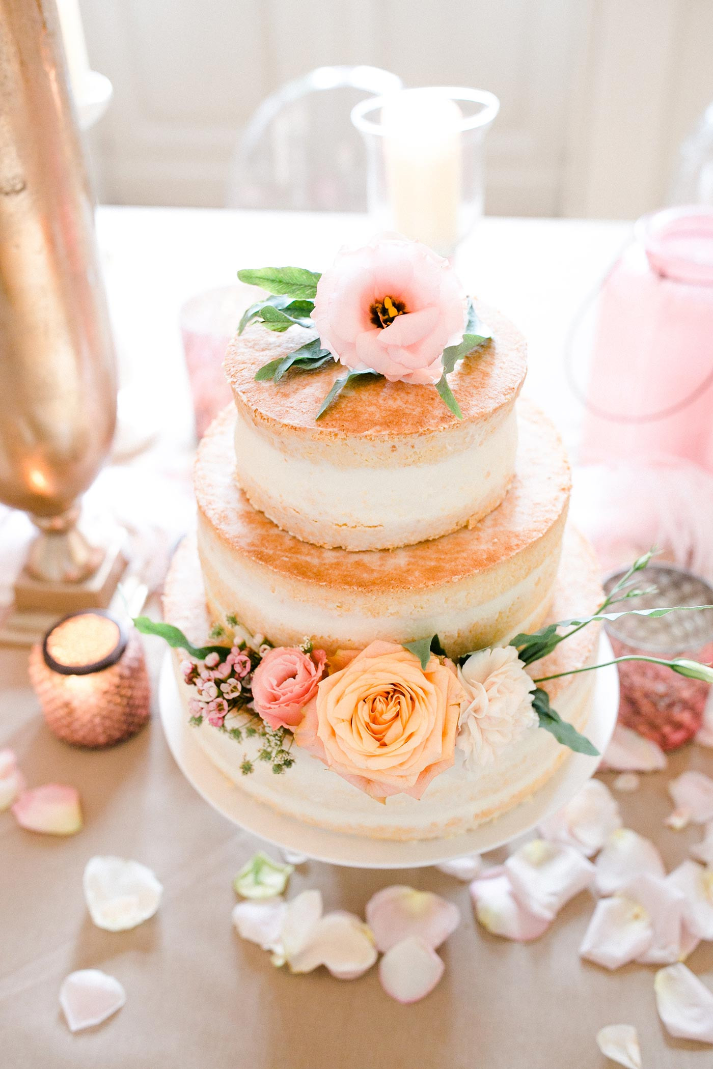 Naked Cake Hochzeitstorte  Naked Cake Hochzeitstorte I Bildergalerie Hochzeitstorten