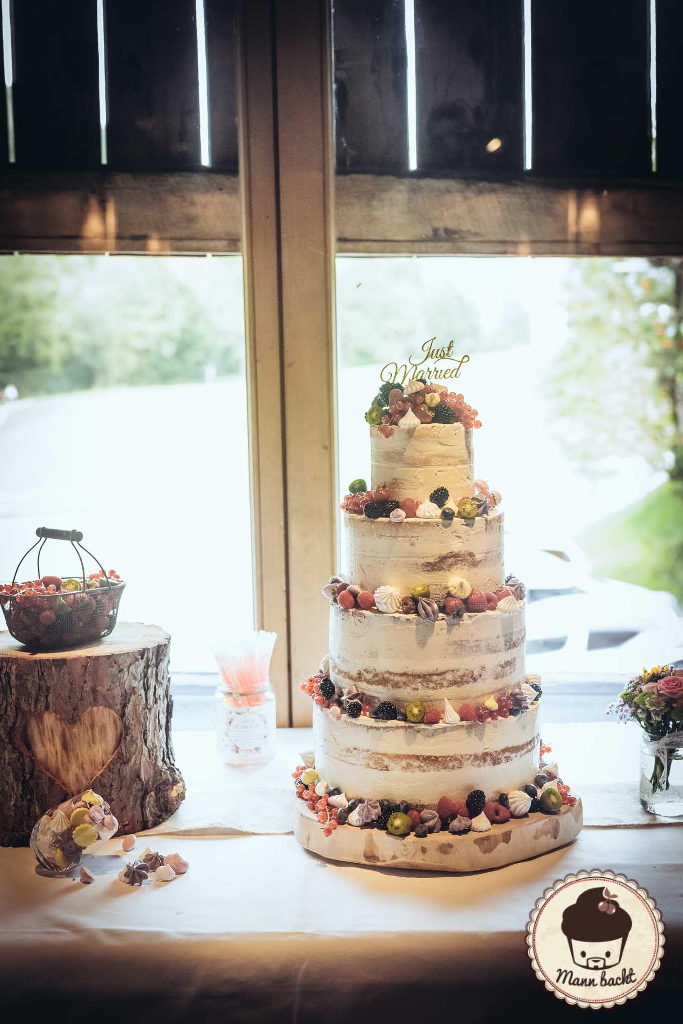 Naked Cake Hochzeitstorte  [Tutorial] Der perfekte Naked Cake
