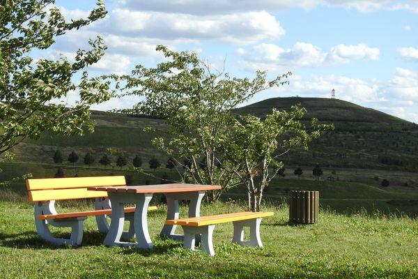 Neue Landschaft Ronneburg  Landkreis Greiz Bilder & Fotos