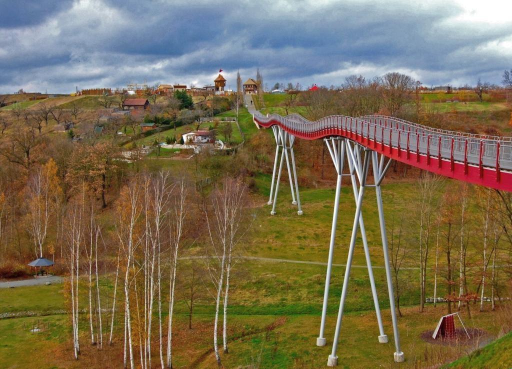 Neue Landschaft Ronneburg  Brücke Architektur